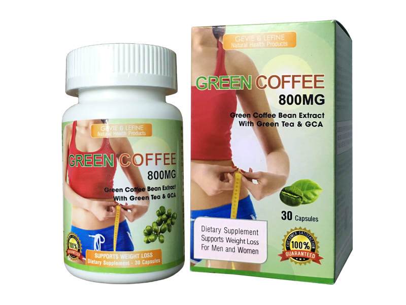 Green Coffee 800mg - 30 vien